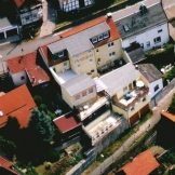 Ein Blick auf die Pension Möbisburg in Erfurt