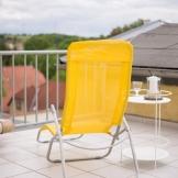 Ein Blick auf die Terasse der Pension Möbisburg in Erfurt